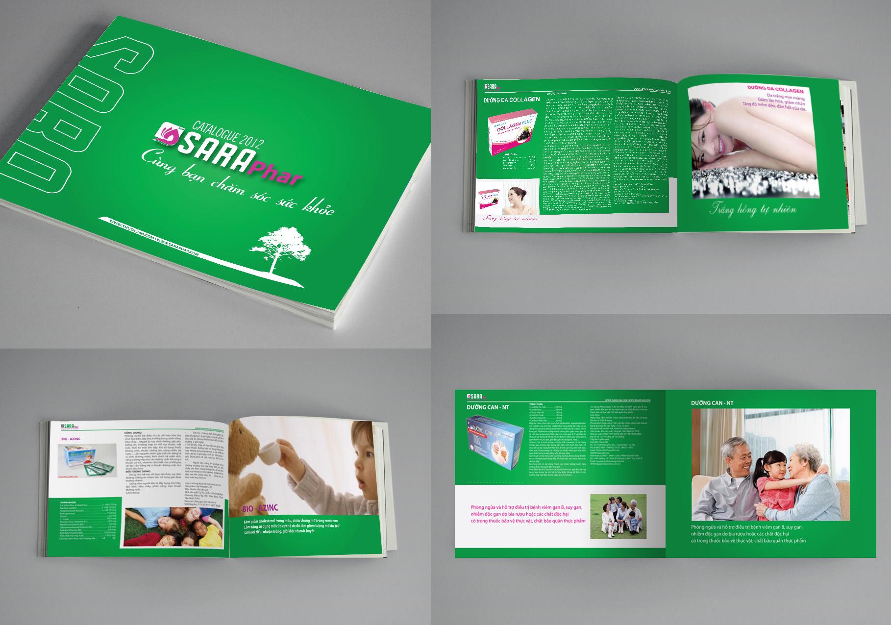 các loại in ấn catalogue giấy duplex