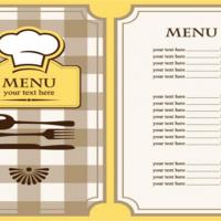 In menu nhà hàng quán ăn đẹp giá rẻ tại tphcm