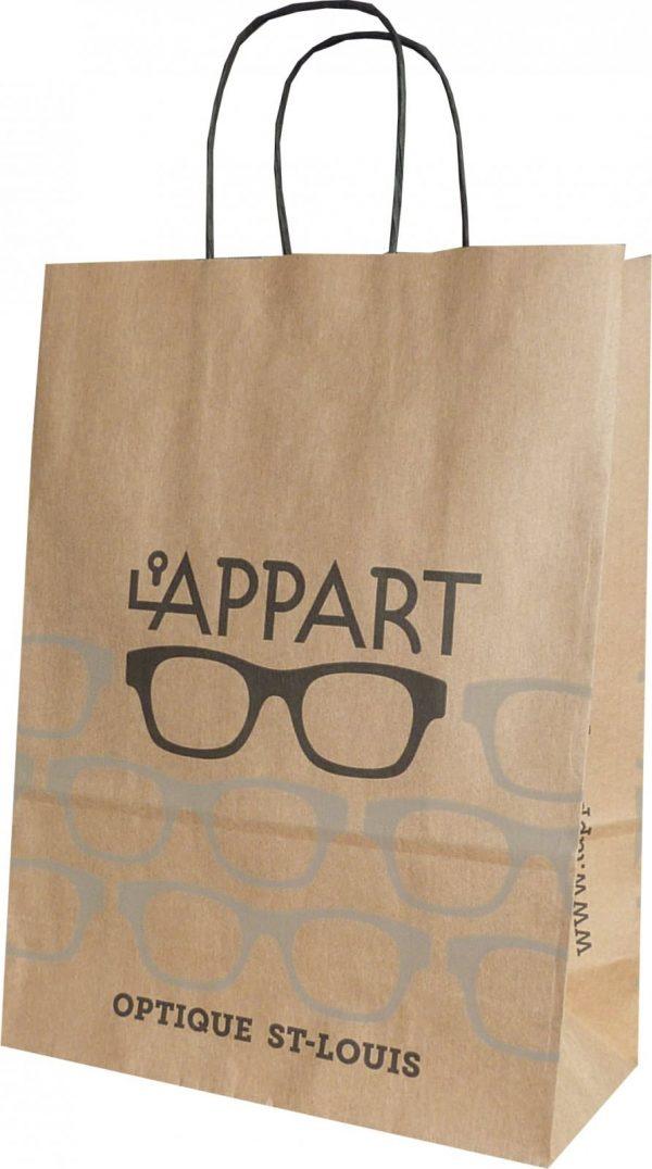 In túi giấy đựng mắt kính hcm