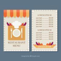 Cách thiết kế một menu nhà hàng hiệu quả