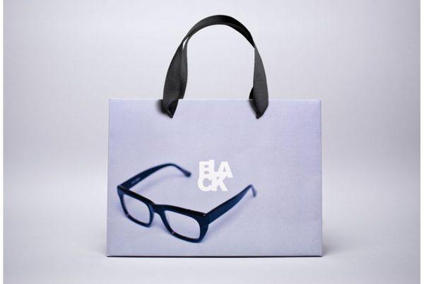 In túi giấy đựng mắt kính