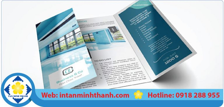 Dịch vụ in brochure giá rẻ hcm