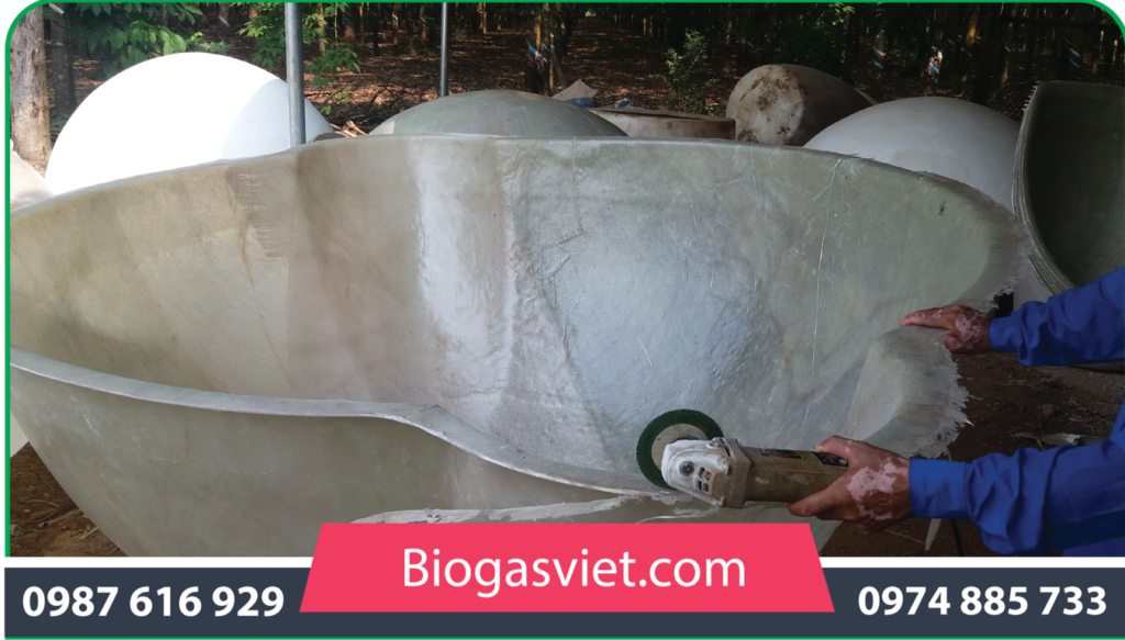 hầm biogas cải tiến