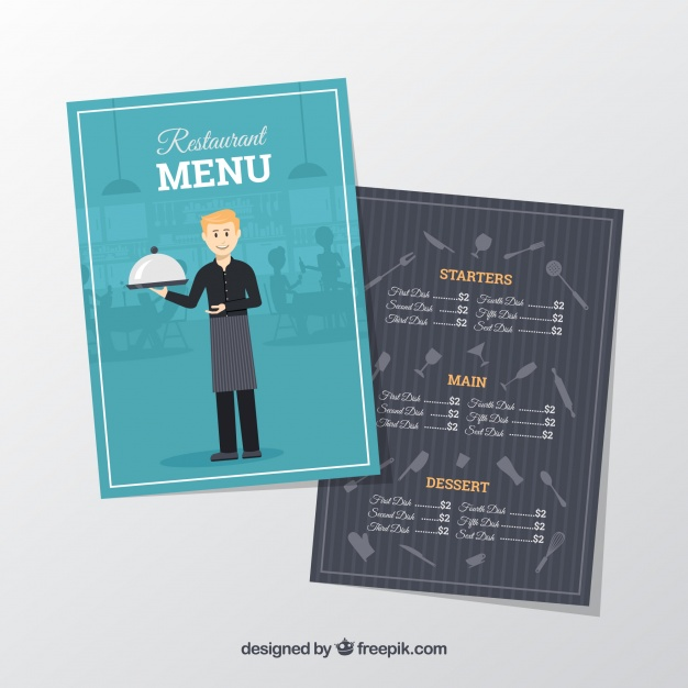 in nhanh menu giá rẻ tại hcm