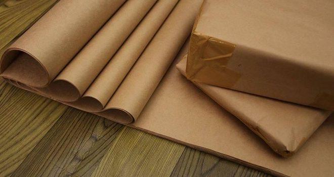 giấy kraft gói hàng